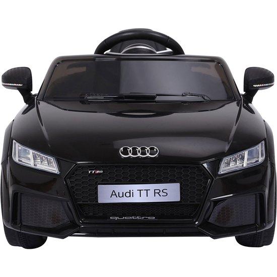 Deze Audi TT RS elektrische kinderauto is geschikt voor kinderen van 3 t/m 7 jaar oud.