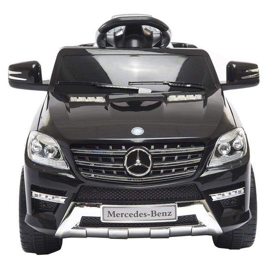 Deze Mercedes ML350 elektrische kinderauto is geschikt voor kinderen van 3 t/m 7 jaar oud.