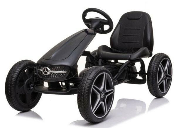 Deze stoere Mercedes skelter is voor kinderen van 3 t/m 8 jaar
